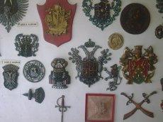 Museo de Resina, escudos heraldicos