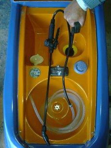 Modelo Acqua Bandeja Full con medidor de agua