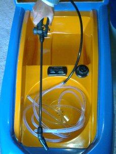 Modelo Acqua bandeja base